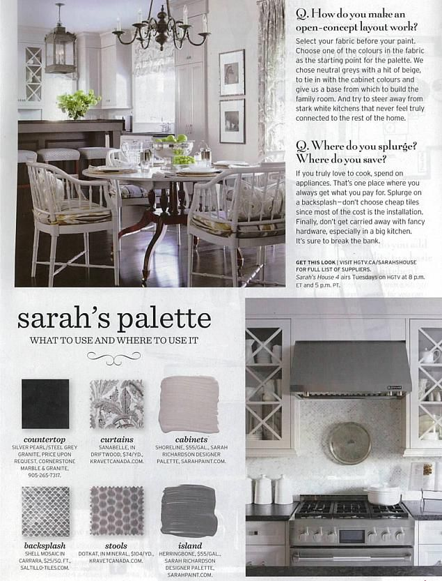 sarah richardson chatelaine tips builder kitchen