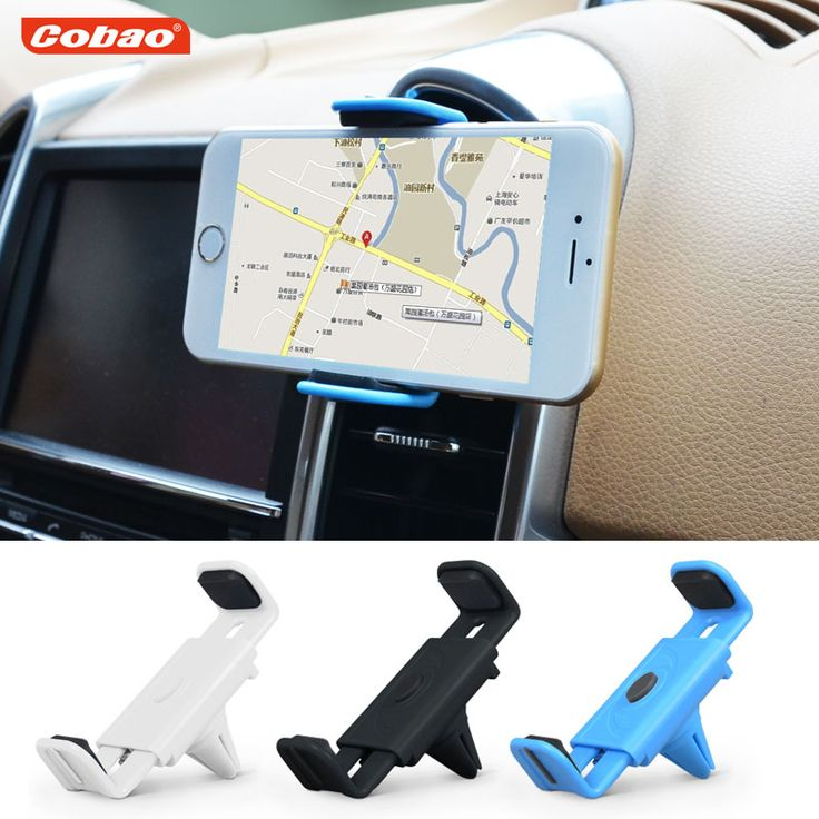 Universal car air vent phone holder Cobao mobile phone mount stand holder smartphone support cell phone holder iphone samsung #>=#>=#>=#>=#> Click on the pin to check out discount price, color, size, shipping, etc. Save and like it!