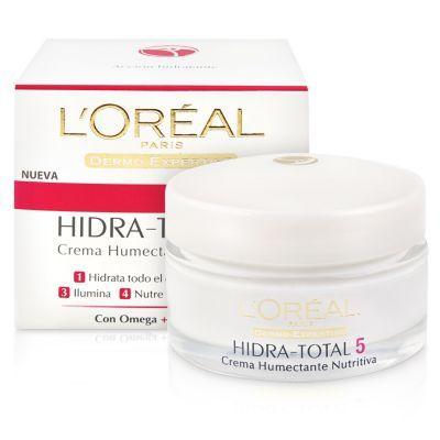 L'Oréal Crema Humectante Nutritiva Hidra-Total 5