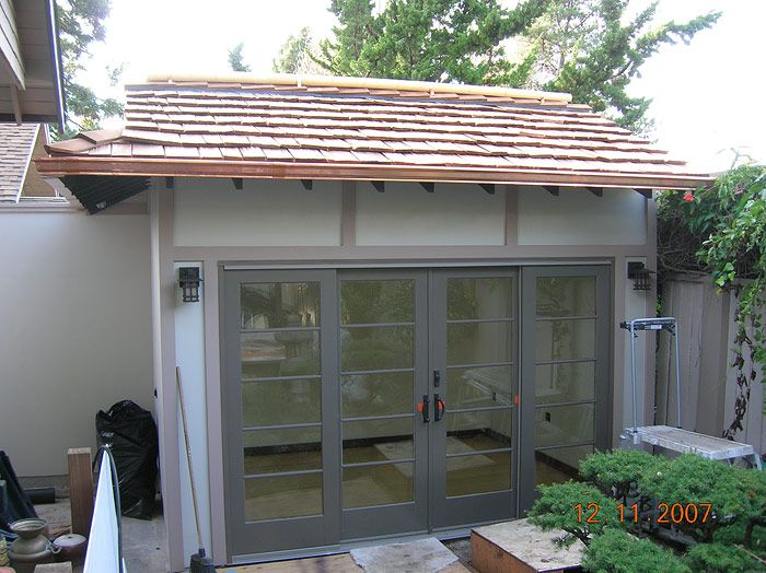asian shed design   exterior design elements were specifically chosen to portraythe Asian ...