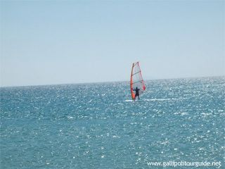 The Dardanelles gets regular winds. This is why all parts of the Strait but especially Guzelyali are suitable for windsurfing lovers. Bozcaada, with its clean & shallow waters, is an alternative destination for windsurfing. Be sure to spend plenty of time experiencing the outdoor activities of the region...