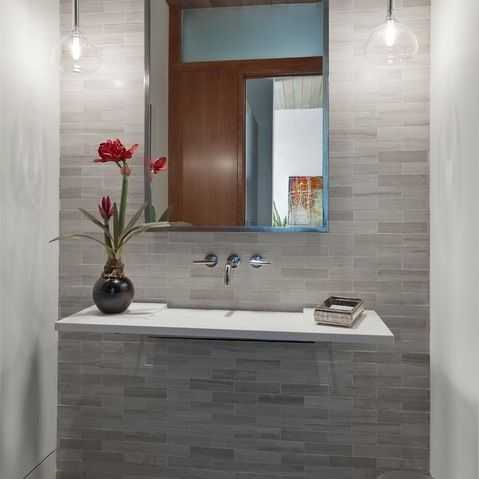 Ideas Bathroom Tiles Ideas Of Antique With Contemporary Feature Wall