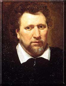 Ben Jonson after Abraham van Blyenberch (c) copyright National Portrait Gallery, London