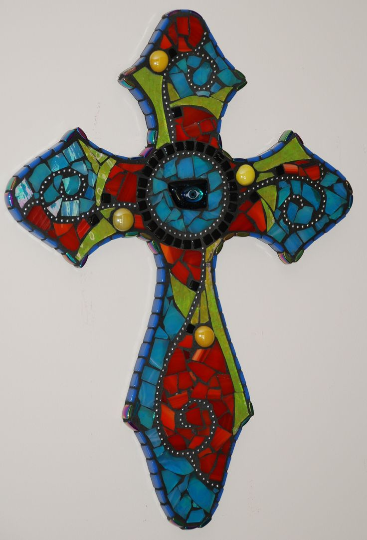17 Best Images About Mosaic Crosses On Pinterest Mosaic