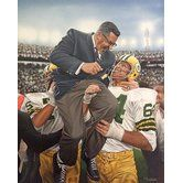 Found it at Wayfair - 'Vince Lombardi Green Bay Packers Coach' by Darryl Vlasak Painting Print on Wrapped Canvas ART you can buy directly from us! Available in framed, canvas, posters, and prints! At prices that won't break the bank. www.buyart4less.com #buyartforless