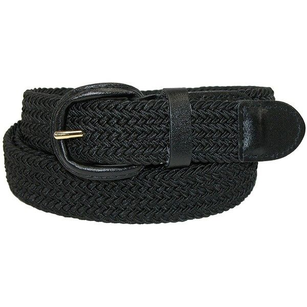 CTM® Mens Elastic Braided Belt with Covered Buckle (Big & Tall... ($7.99) ❤ liked on Polyvore featuring men's fashion, men's accessories, men's belts, mens belts, mens elastic belt, mens woven belts and mens braided belts