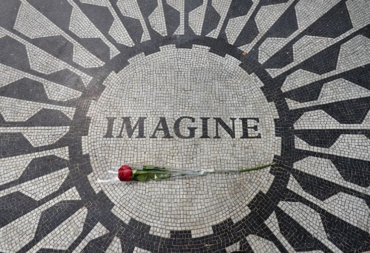 NYC John Lennon's memorial - By Anthony A