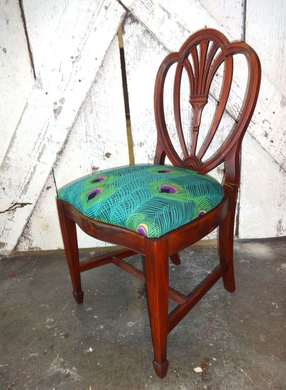 Peacock Flare Back Chair
