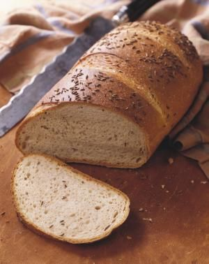 Loaf of Rye Bread with Caraway Seeds - Steven Mark Needham / Getty Images