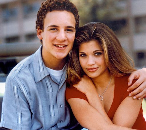 cory and topanga relationship in real life