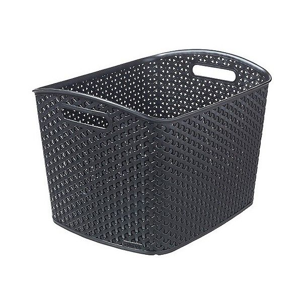 Y Weave Storage Bin (41 BRL) ❤ Liked On Polyvore Featuring Home, Home