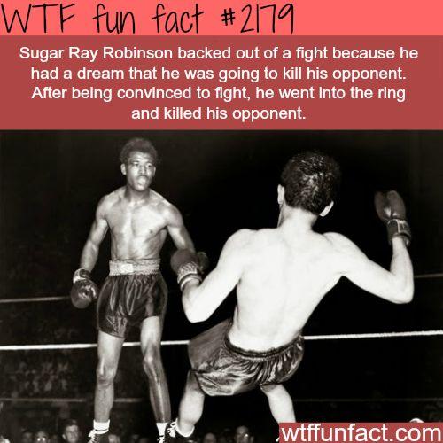 Sugar Ray Robinson -WTF fun facts