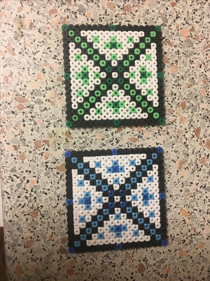 Coasters / Brikker Hama Beads / Perler