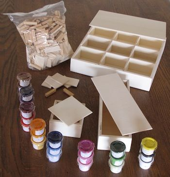 Kit complet pour fabriquer les 3 boites des couleurs Montessori adresse mail précise http://www.lecoinmontessori.com/les-boites-des-couleurs/