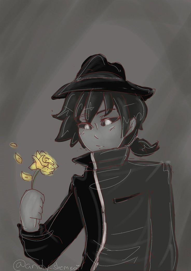 lastima que no es azul la flor :'(