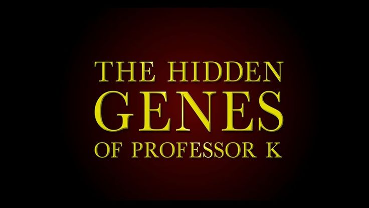 The Hidden Genes of Professor K [Official Trailer] A Medical Mystery Thriller https://www.amazon.com/dp/B01IL2VYSU/ Cutting-edge medical research meets the ruthless, dangerous world of pharmaceutical empire billionaires, where unbridled ambition and greed threaten to destroy the dreams of a visionary scientist with the power to change the future of medicine, and the journey of man.  #medicalthrillers #medicalthriller #medicalmystery #mystery #medicalfiction