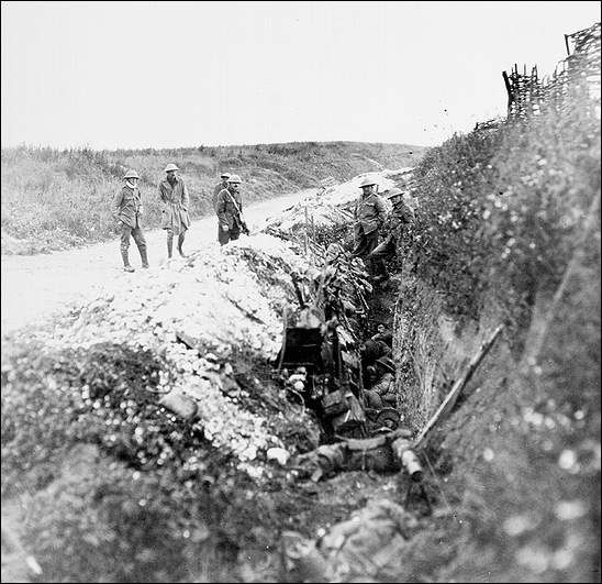 Newfoundland Soldiers in St. John's Road Support Trench, July 1, 1916 None was as devastating or as defining as the first day of the Battle of the Somme. The Regiment's tragic advance at Beaumont Hamel on the morning of July 1, 1916 became an enduring symbol of its valour and of its terrible wartime sacrifices. The events of that day were forever seared into the cultural memory of the Newfoundland and Labrador people. Courtesy of the Rooms Provincial Archives Division (NA 3105), St…