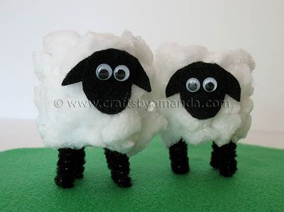 Easter is coming and so is spring! The fuzzy little lamb is symbolic of both, so why not sit down with your kids and put some of these fun little guys together. This is an easy kid's craft for Easter, perfect even for preschoolers. A full demonstration is available on video too! I'm new toRead More »