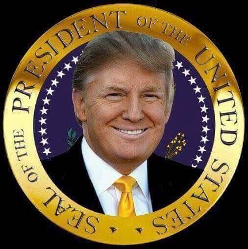 Donald Trump - Elected 11-8-16