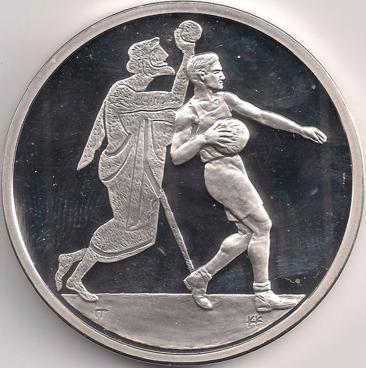Motivseite: Münze-Europa-Südosteuropa-Griechenland-Euro-10.00-2004-Handball