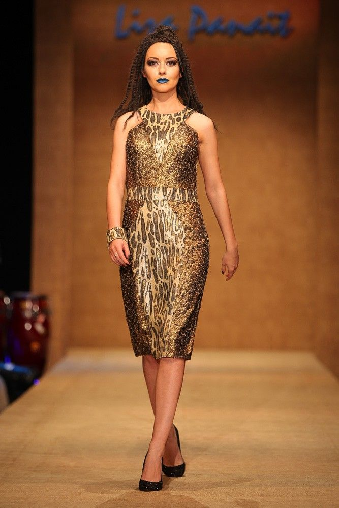 Sequined tulle dress - Touareg Collection