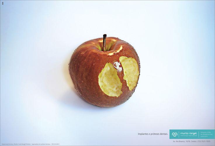 Murilo Rangel odontologia Especializada: Dental Implant and prosthesis | #ads #marketing #creative #werbung #print #poster #advertising #campaign found on www.Printwerbung-hamburg.de pinned by www.BlickeDeeler.de
