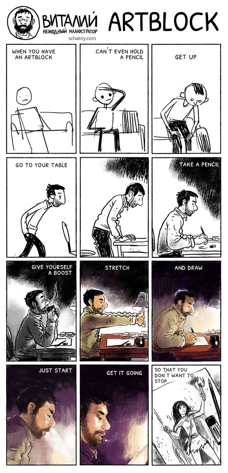 Love this! It could apply to both art and writing. Just do the thing....even if it's terrible, at least practice every day. =)