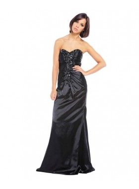 Ruby Prom Marbella Black Evening Gown. Buy @Gail Regan Truax://thehubmarketplace.com/Marbella-Black-Evening-Gown