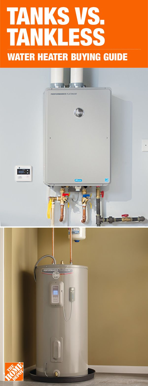 Supply Hot Water To Your Home With An Efficient Water Heater Choose From A Variety Of Options Wit Water Heater Water Heater Installation Tankless Water Heater