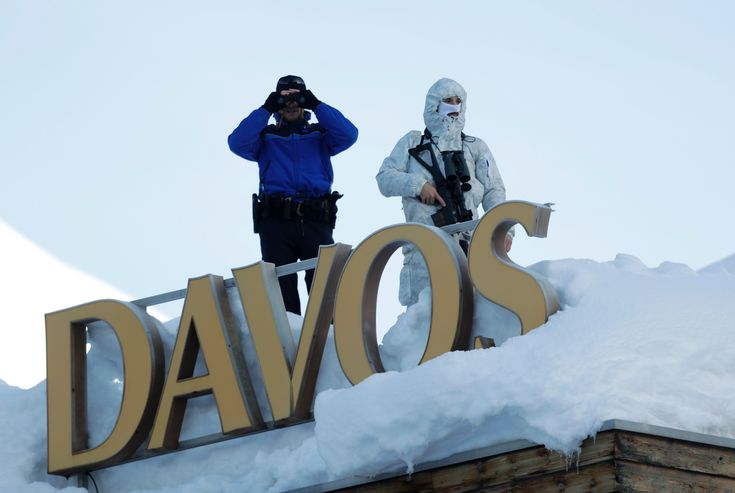 Fox News - The Latest on the World Economic Forum in Davos, Switzerland (all times local): 10:40 a.m.