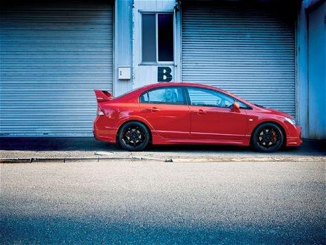 Honda Civic Mugen RR #red