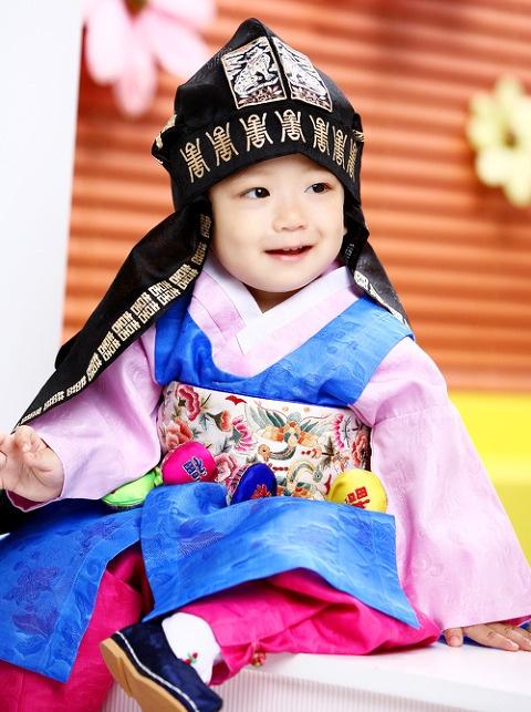Baby 한복 Hanbok / Traditional Korean dress