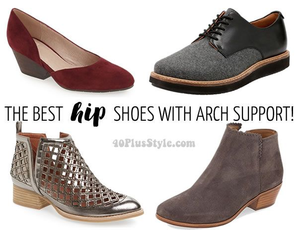The best art support shoes for women over 40!   40plusstyle.com