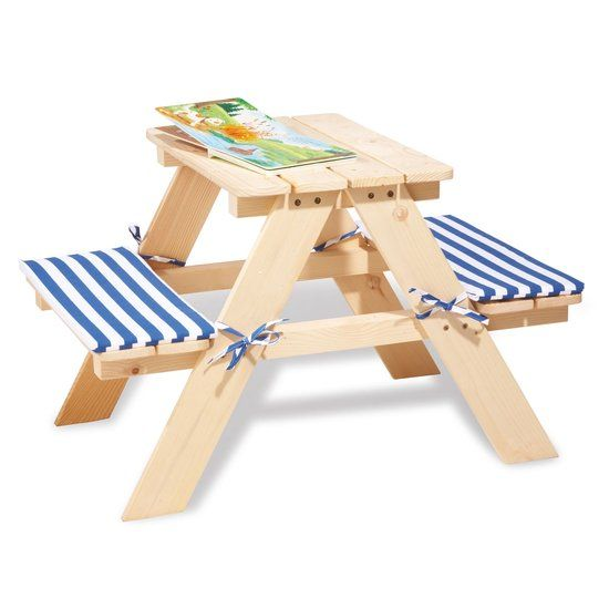 Pinolino Kinderpicknicktafel Nicki voor 2 Naturel