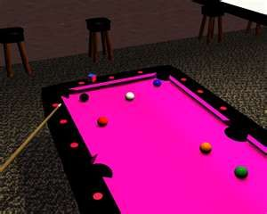 Pink Pool Table By ~dragonstar Msg. Ok, Weu0026 Thatu0026 A Little Much, But It Is  Pink, Just Saying.