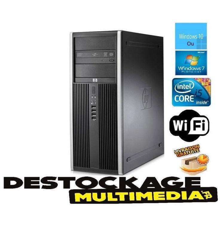 HP Elite 8200- Intel Core i5-2400 (4 x 3.1GHz) - 4GB RAM - 250G-Wifi-WINDOWS 10