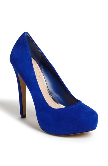 "$89 Jessica Simpson ""Francesca"" Pump < An affordable version of the Louboutins I fell in love with (but will probably never have)."