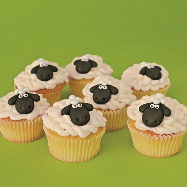 Baby Lamb Cupcake Kit