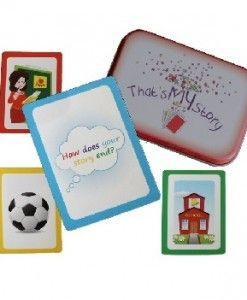 That's My Story Telling Cards $16.95 #sweetcreations #education #family #organisation #learning #charts