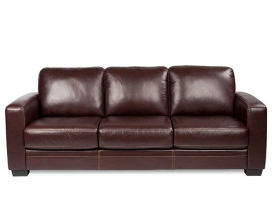 leather sofa beige sofas scandinavian designs plummers furniture dania