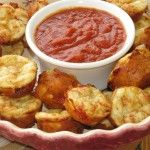 (Game Day) Pepperoni Pizza Puffs