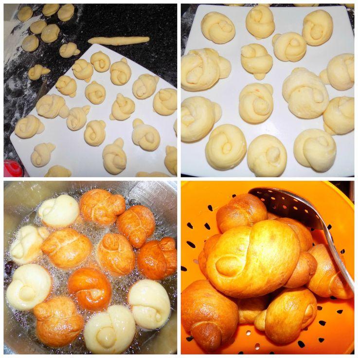 """Les """"Pâte à Choux"""" sont des amuse-bouche d'origine Congolaise. La recette a été revisitée et nous a été proposée par Vénicia Guinot, Fondatrice de #TropicsFood."""