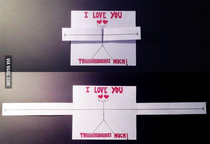 How cheesy is my homemade Valentines card for my boyfriend !?Happy Valentines Day everyone ! – #boyfriend #Card #cheesy #day #Happy