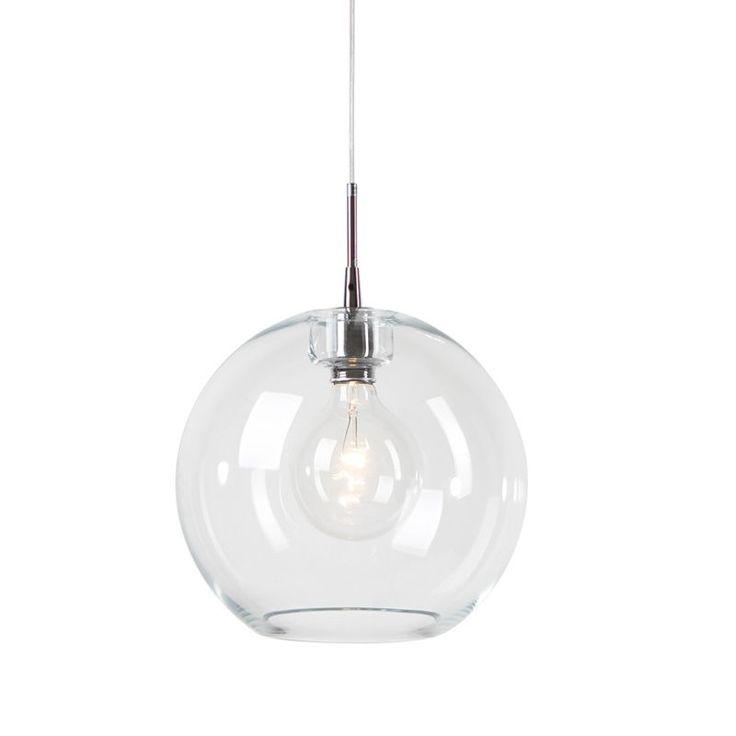 Belid Gloria Klar/Krom 32 cm Taklampe
