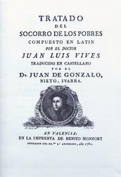 uan Luis VIVES (Autor) Juan de GONZALO NIETO IVARRA (Impresor) Benito Monfort (Impresor) Procedencia: Valencia, s. XVIII Biblioteca de Manuel Bas Carbonell