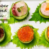 Thumbnail image for Cucumber Wrapped Sushi きゅうりの軍艦巻き