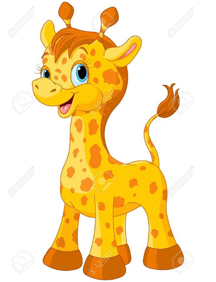 Giraffe Zeichentrick