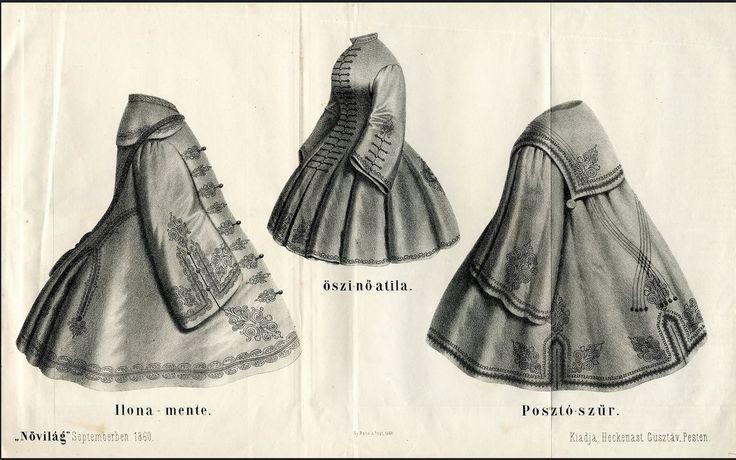 1860 női kabátok