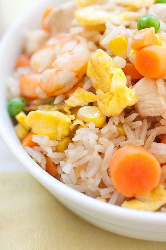 Fried Rice is the popular Chinese food. Easy fried rice recipe with ...