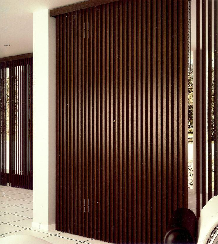 #cortinas #verticales #madera #Lamelgardiner